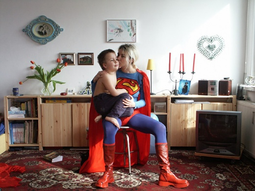 Elzbieta Jabłonska (Poland), Super Mother, 2002, Photography / Fotografie, 100 x 150 cm